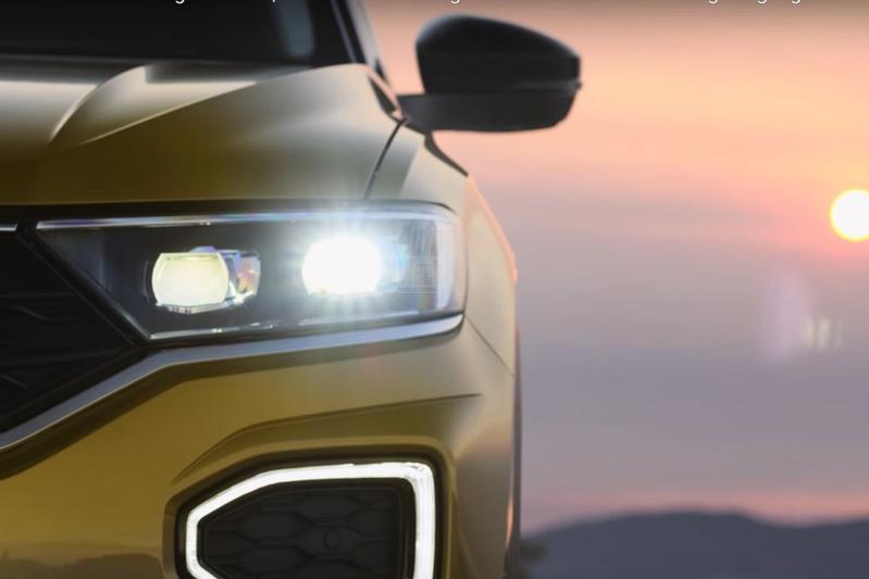 Volkswagen toont opnieuw stukjes T-Roc