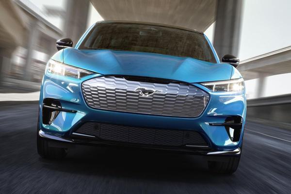 Ford Mustang Mach-E krijgt sportieve topversie