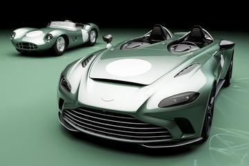 Aston Martin V12 Speedster eert DBR1