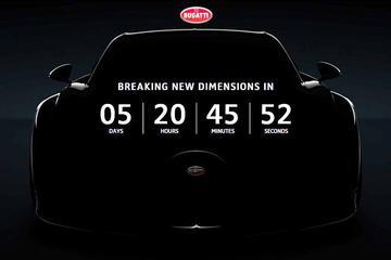 Aftellen naar Bugatti Chiron