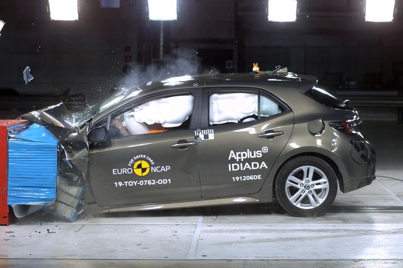 EuroNCAP Toyota Corolla
