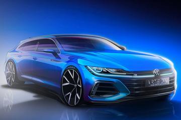 Vernieuwde Volkswagen Arteon én Arteon Shooting Brake in beeld