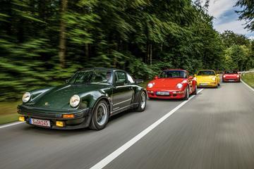 45 jaar Porsche 911 Turbo