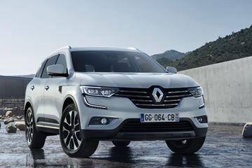 Renault toont front Koleos