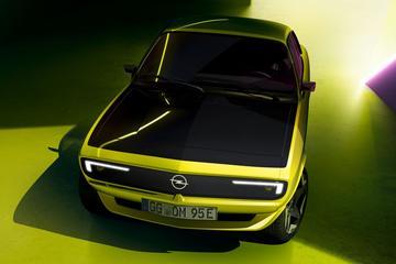 Opel Manta GSe Elektromod toont verleden en toekomst