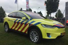 Tesla Model X als 'rapid responder'