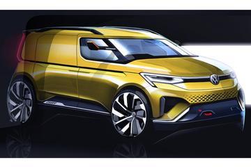Volkswagen schetst nieuwe Caddy