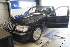 Mercedes-Benz S600 Classic - Op de Rollenbank