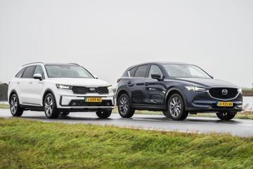 Kia Sorento vs. Mazda CX-5 - Dubbeltest