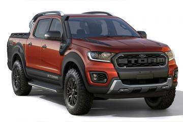 Ford Ranger Storm in beeld gebracht