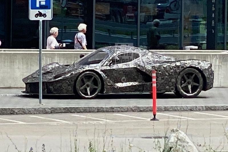 Ferrari LaFerrari-opvolger spyshots