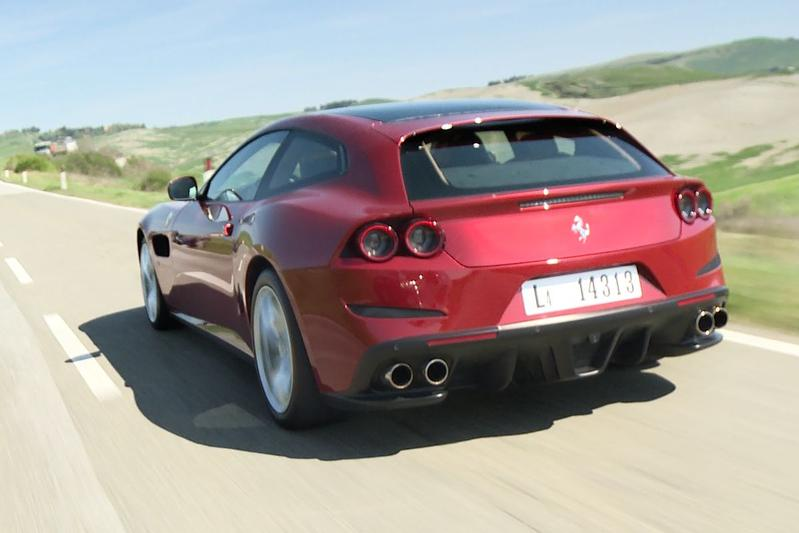 Ferrari GTC4Lusso T - Rij-impressie
