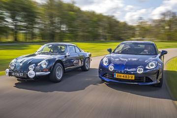 Alpine A110 - Oud & Nieuw