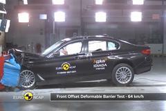 BMW 5-serie - Crashtest - EuroNCAP