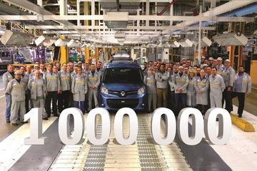 Miljoenste Renault Kangoo een feit
