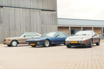 Porsche 928 vs. Ferrari 400i vs. Mercedes 560 SEC - Triotest