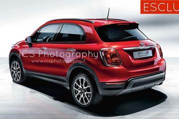 Officiële foto's Fiat 500X gelekt