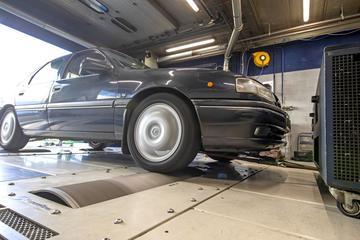 Opel Vectra 2.5 V6 - Op de Rollenbank