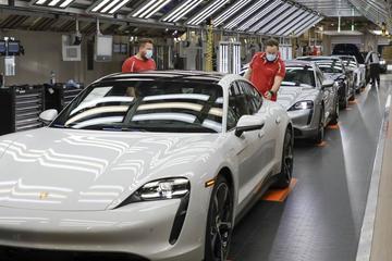 Audi schiet Porsche te hulp bij Taycan-productie