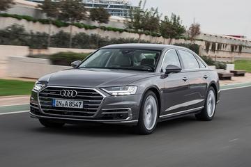 Audi A8 - Rij-impressie