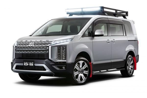 Mitsubishi gaat los op Tokyo Auto Salon