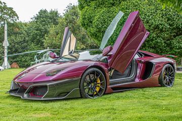 Huber Era is eerbetoon aan Lamborghini Aventador