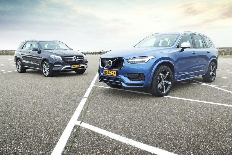 Dubbeltest - Volvo XC90 vs. Mercedes GLE500e