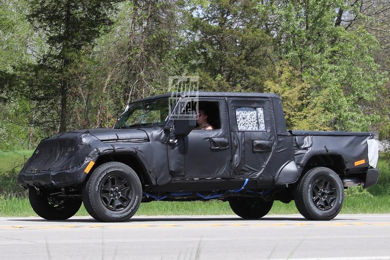 Jeep Wrangler Pick-up