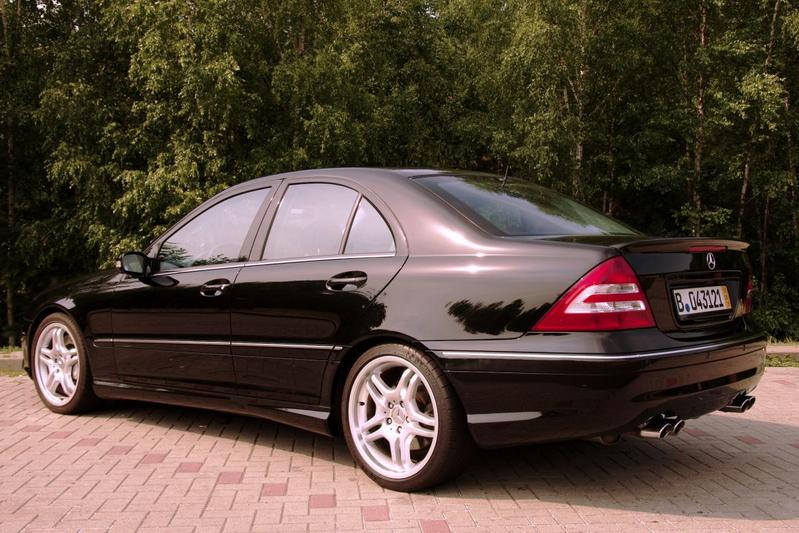 Mercedes-Benz C 55 AMG (2004)