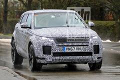 Gesnapt: nieuwe Range Rover Evoque