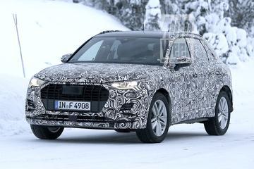 Nieuwe Audi Q3 loopt tegen de lamp