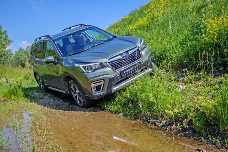 Subaru Forester e-Boxer - Eerste rijtest