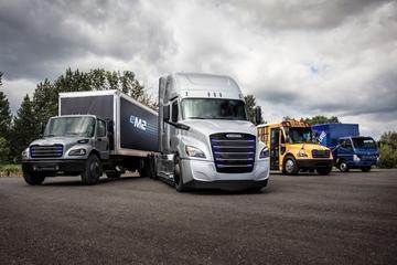 Daimler komt met elektrische vrachtauto's