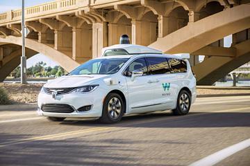 De volledig autonome auto's van Waymo