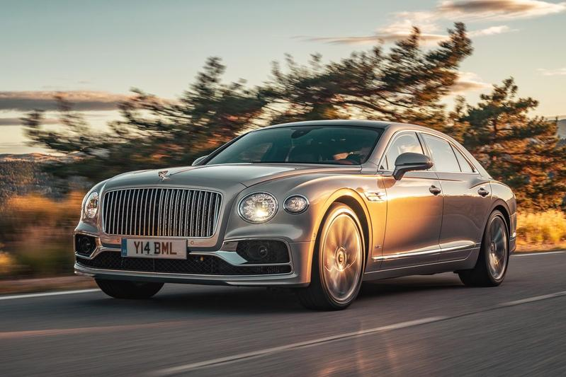 Bentley Flying Spur - Rij-Impressie