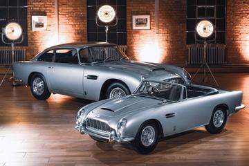 Aston Martin komt met elektrische DB5 Junior
