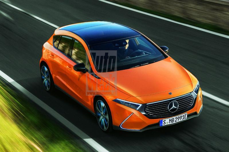 Mercedes-Benz EQ A illustraties