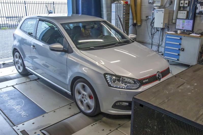 Volkswagen Polo 1.4 TSI GTI - Op de Rollenbank