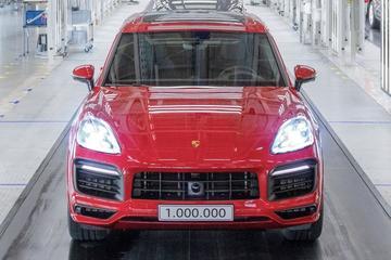 Porsche bouwt miljoenste Cayenne