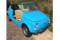 In het wild: Fiat 500 'Jolly'