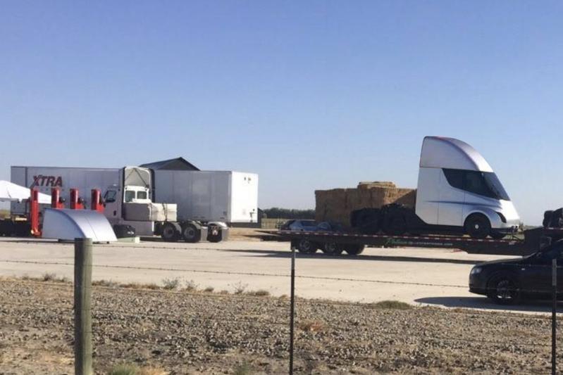 Is dit Tesla's elektrische vrachtwagen?