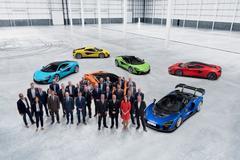 McLaren opent fabriek in Sheffield