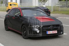 Nogmaals gespot: Mercedes-Benz A-klasse