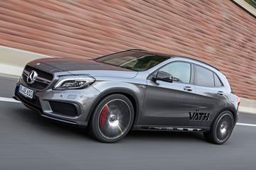 Väth pakt Mercedes GLA 45 AMG aan