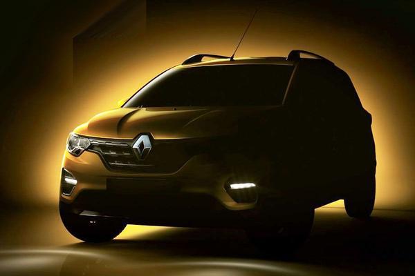 Renault Triber in beeld