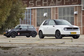Honda E vs. Mini Cooper SE - Dubbeltest