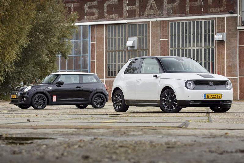 Honda E vs. Mini Cooper SE - Dubbeltest