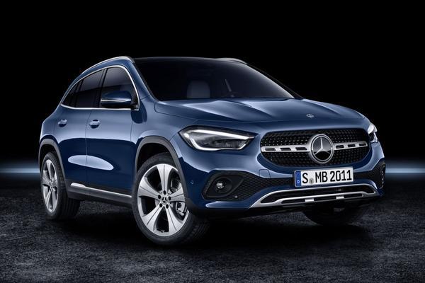 Dít is de gloednieuwe Mercedes-Benz GLA