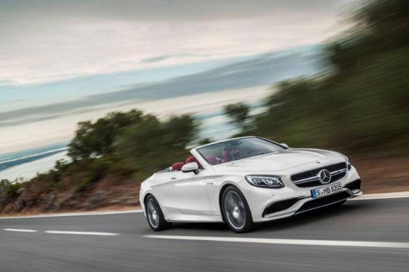 Mercedes S-klasse Cabrio nu al helemaal in beeld!