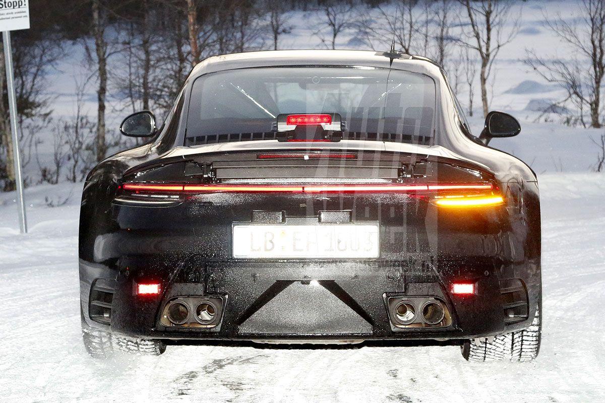 porsche start testwerk volledig nieuwe 911 autonieuws